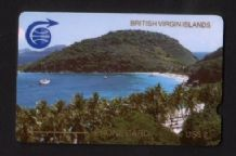 Phonecard Telephone card D1 Virgin Isles trial RARE